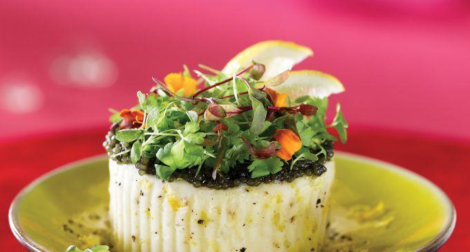 Mascarpone Mashed Potatoes with Meyer Lemon (but minus the caviar!)