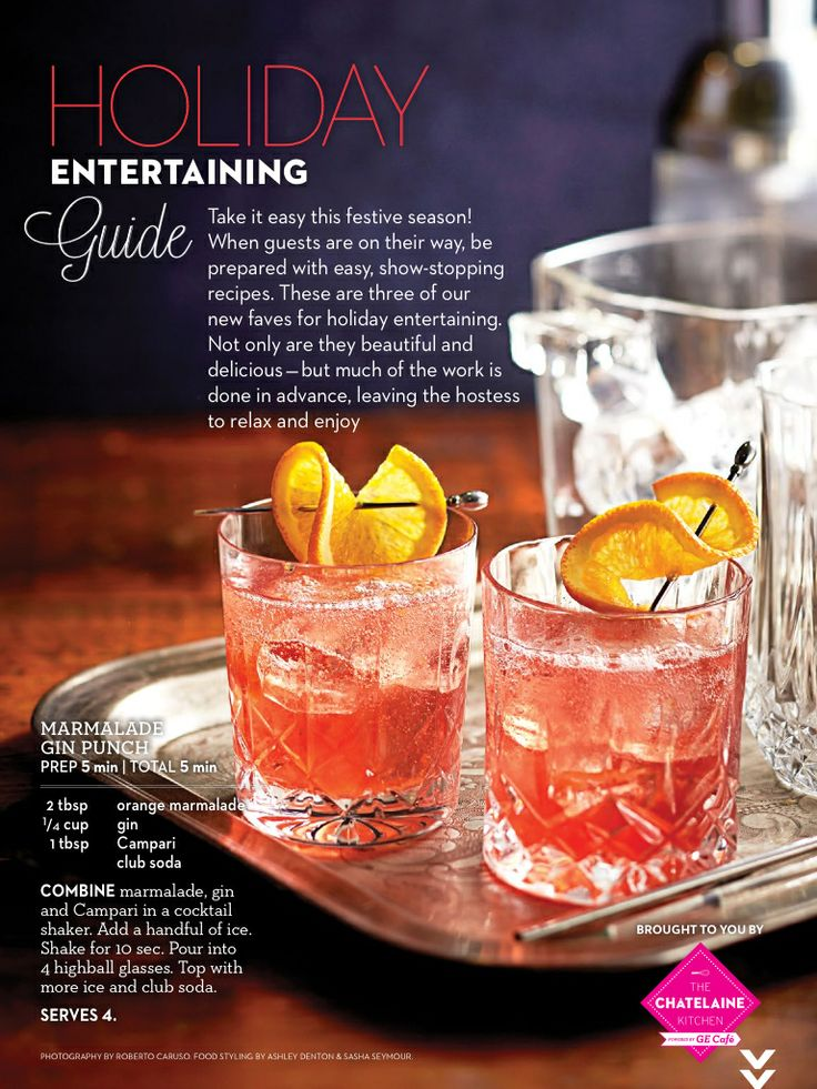 Gin Marmalade Cocktail   Favorite Recipes   Pinterest