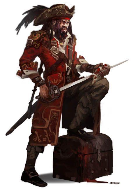 Briossian Pirate Capta...