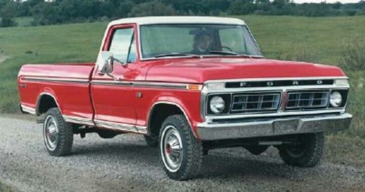 1976 Ford Truck Pink Trucks Pinterest