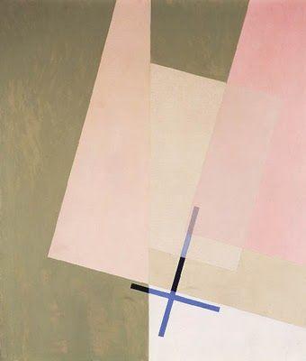 Laszlo Moholy-Nagy | A XI, 1923, oil on canvas