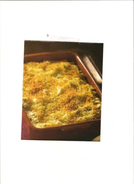 Green Onion Mashed Potatoes with Parmesan Crust Recipe