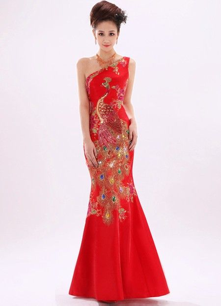 Pin by cozyladywear on qipao cheongsam pinterest for Wedding dress in china