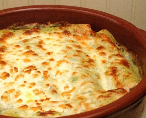 Seafood enchilada decadence....next time I might try layering rather ...