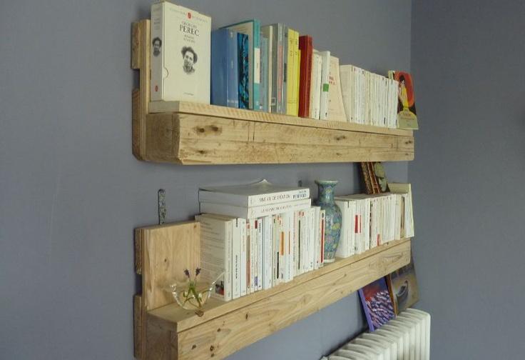 oh les jolies tag res palettes diy pinterest. Black Bedroom Furniture Sets. Home Design Ideas