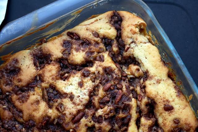 Pumpkin Sour Cream Coffee Cake | Cakes | Pinterest