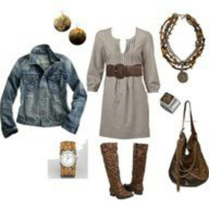 Country Chic Fashion Fall Winter Pinterest