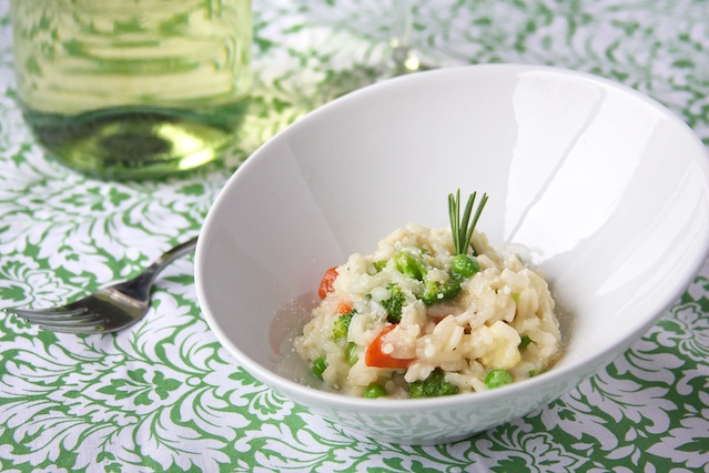 risotto primavera - ultimate spring dish! especially with fresh ...