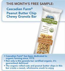 FREE Cascadian Farm Peanut Butter Granola Bar for Betty Crocker ...