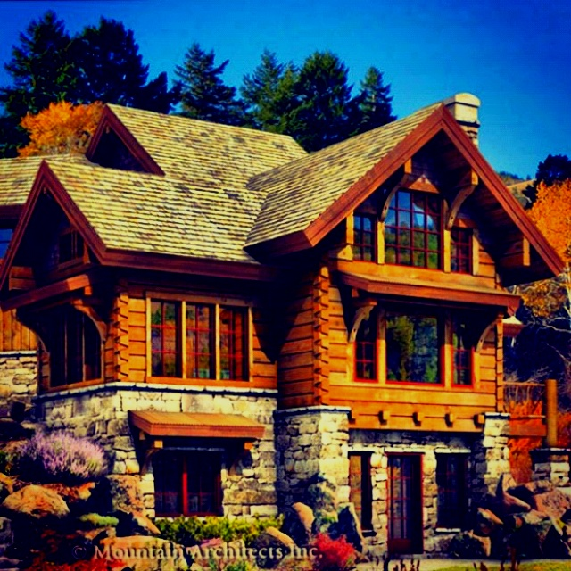 My Dream Home Love Log Cabins A Very Fine House