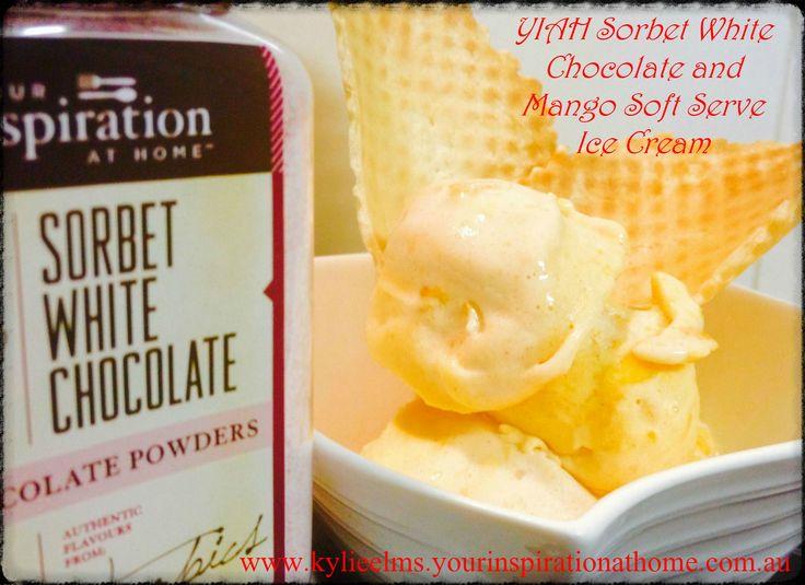 Mango-Lemongrass Ice Cream And Blood Orange Sorbet Recipes ...