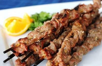 Spicy Thai Lemongrass Beef Skewers | I Love Food! | Pinterest