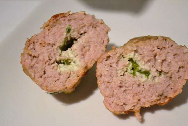 Ricotta Stuffed Veal Meatballs | Recipes from my Blog | Pinterest
