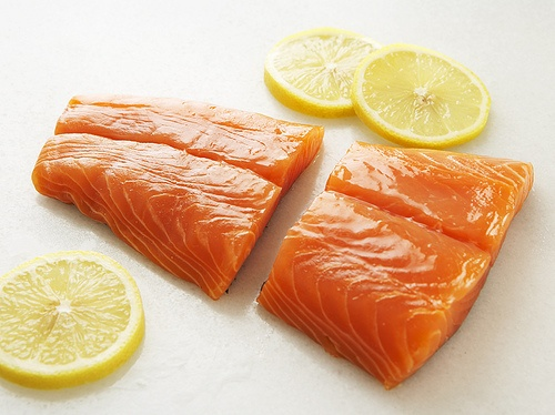 """Slow-Roasted Salmon with Spring Herb Sauce"""" from Cookstr.com #cookstr"""