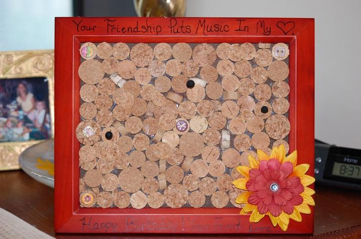 homemade cork board cool ideas pinterest