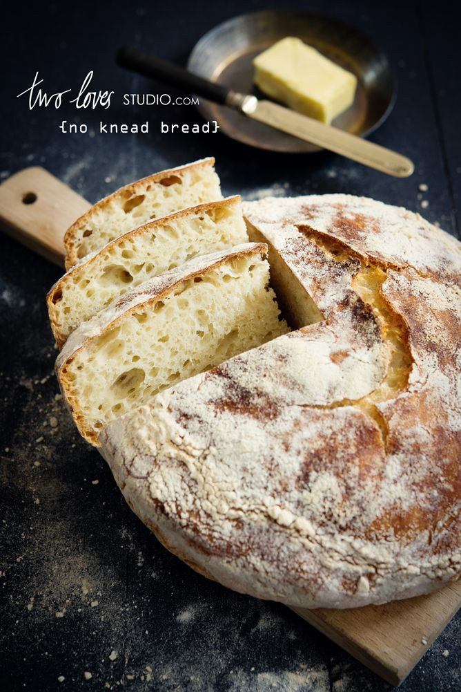 two-loves-studio-no-knead-bread1 | Breads | Pinterest