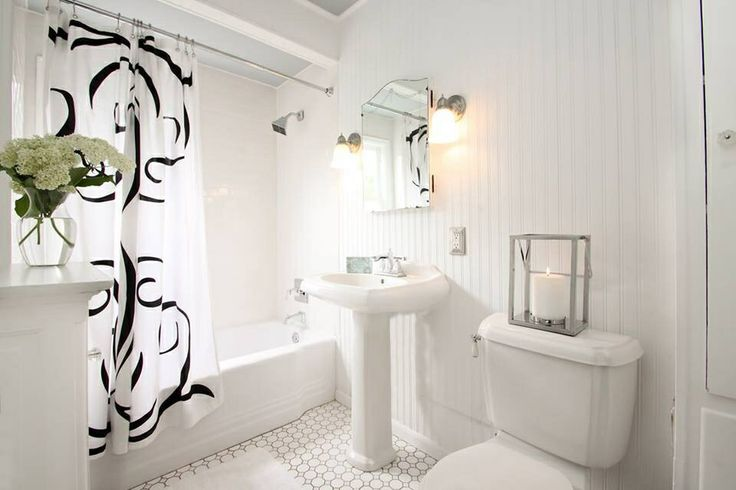 Rehab addict bathroom all white love i love nicole for Bathroom rehab ideas