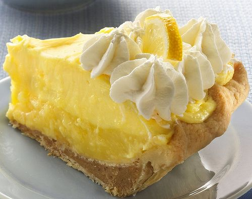 stuffed-crust lemon layer cream pie | Food - Pies/ Custards/ Pastries ...