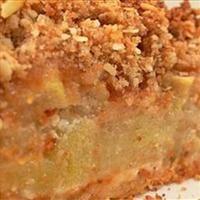 Deep Dish Apple Pie with Brandy Pecan Crumb Topping