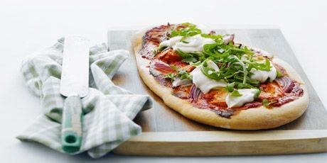 Easy Tandoori Chicken Pizza | Food to Try | Pinterest