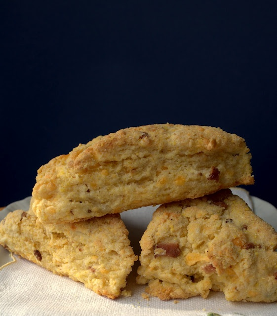 bacon cheddar scones | Sweets and Treats to Try | Pinterest