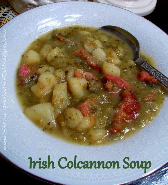Irish Colcannon Soup. | Soup's On! | Pinterest