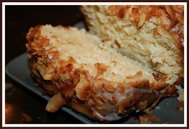 Yummmyyyyy Coconut-Buttermilk Pound Cake | Cakes | Pinterest
