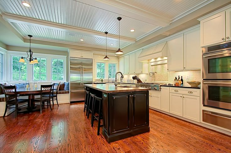 Kitchen Island And Better Breakfast Nook Dream House