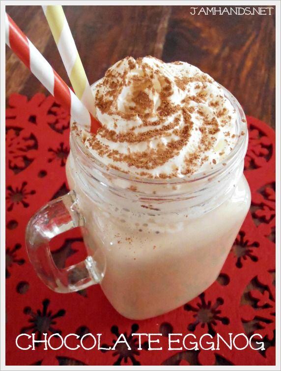 Jam Hands: Chocolate Eggnog | delectable drinks | Pinterest
