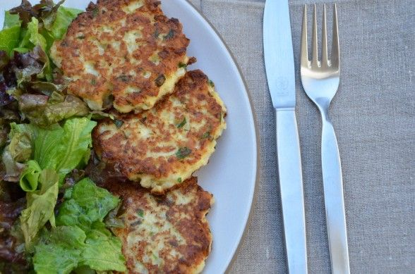 Cauliflower Fritters | Things that make my jeans too tight. | Pintere ...