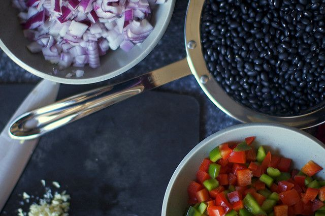 this makes me hungry! chipotle black bean soup by smitten, via Flickr