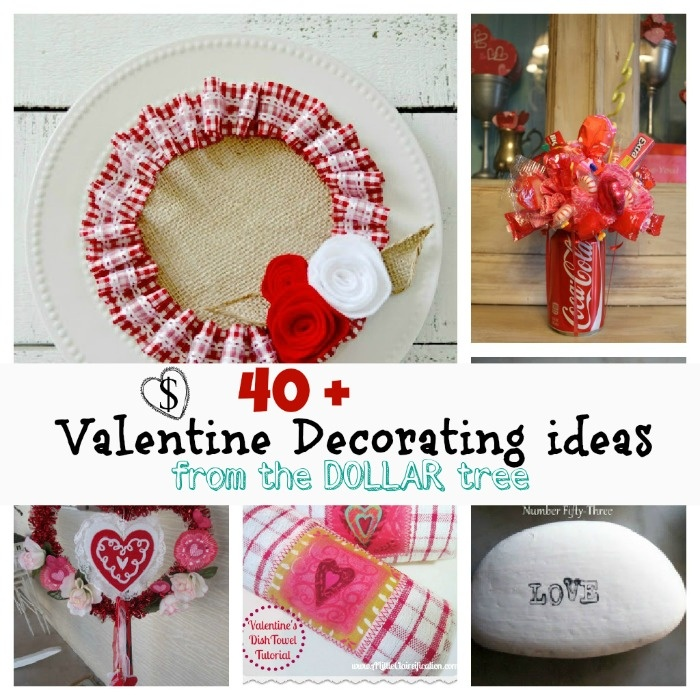 dollar tree valentines day stuff