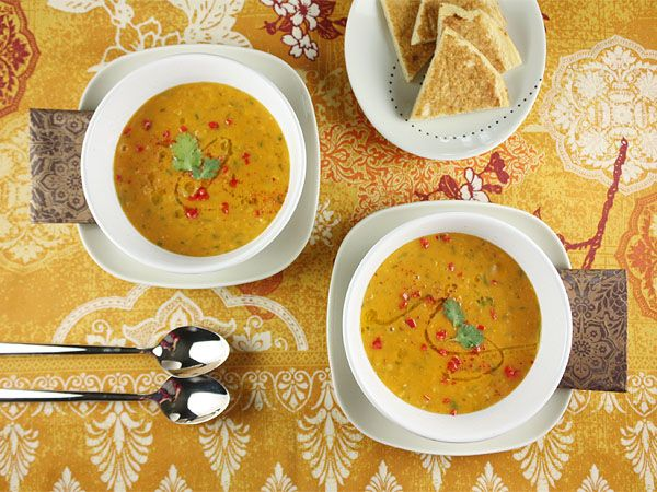 red lentil soup with lemon (want to eat!)