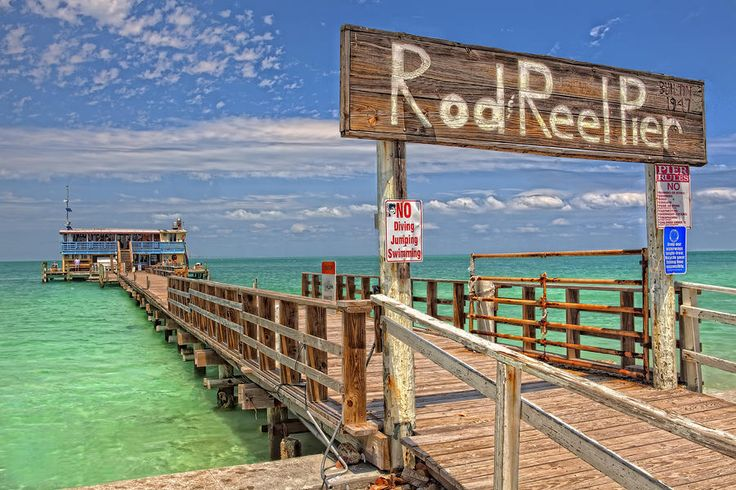 Pin by karrie covet living on florida pinterest for Anna maria island fishing pier