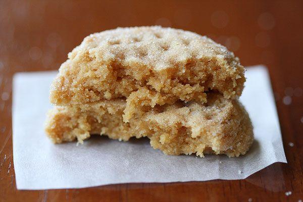 Peanut Butter Cookies w/ Homemade Honey Roasted Peanut Butter