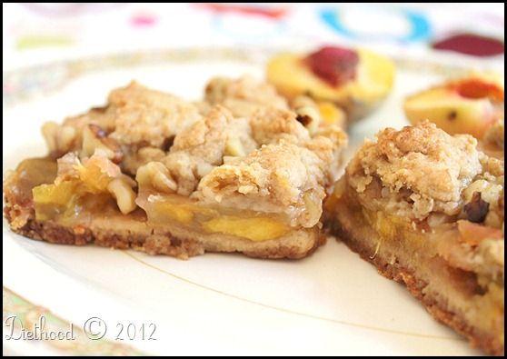 More like this: peach crumb bars , peach and treats .
