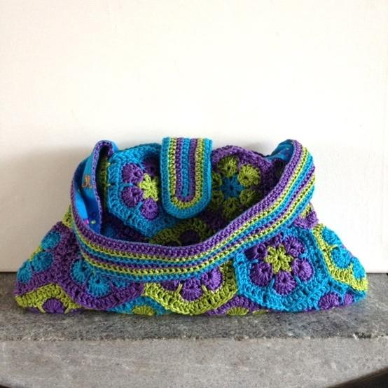 Crochet Summer Bag : Crochet. Summer Bag - Tutorial DIY fashion Pinterest