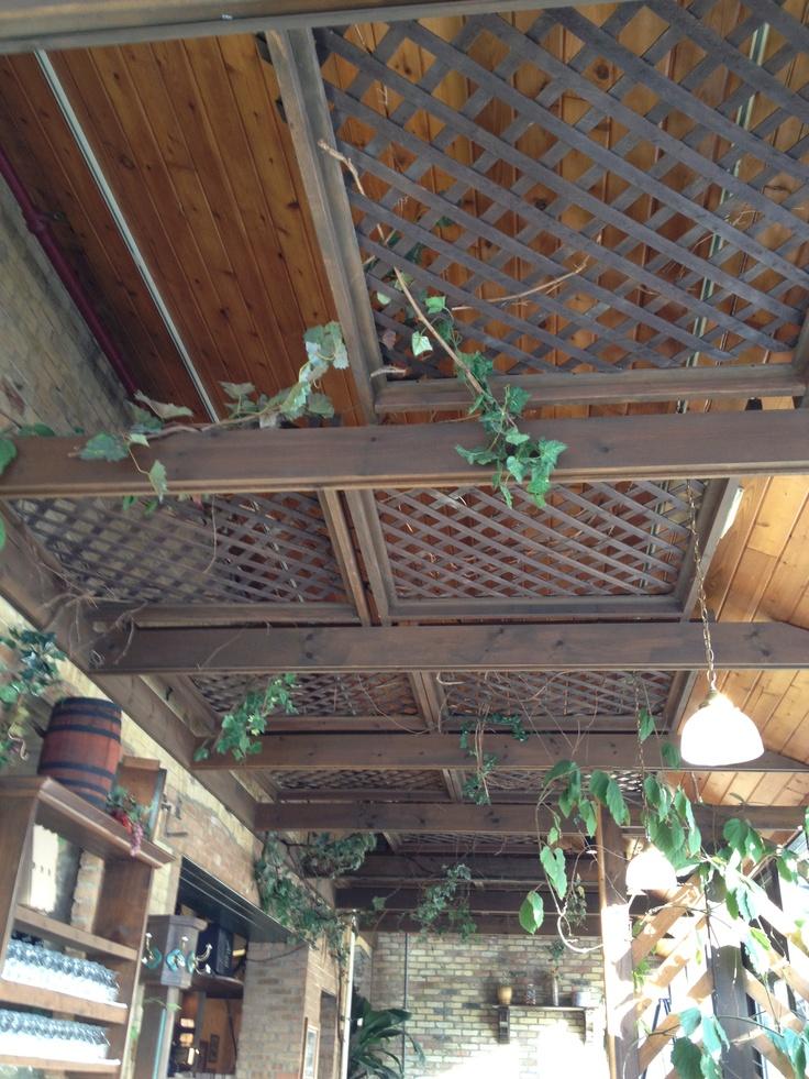 Lattice Squares To Decorate Ceiling Must Do Pinterest