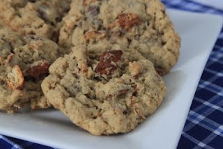 cowgirl cookies (I add toffee bits, dried cherries, pecans and rice ...