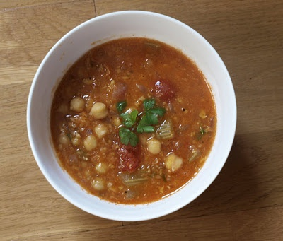 Smoked Paprika And Chickpea Soup Recipe — Dishmaps