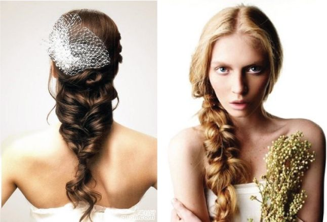 Wedding Trends: Braided Hairstyles
