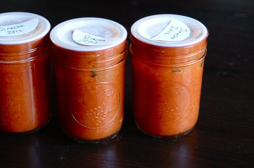 Homemade Sriracha | Ohhh lala saucy! | Pinterest