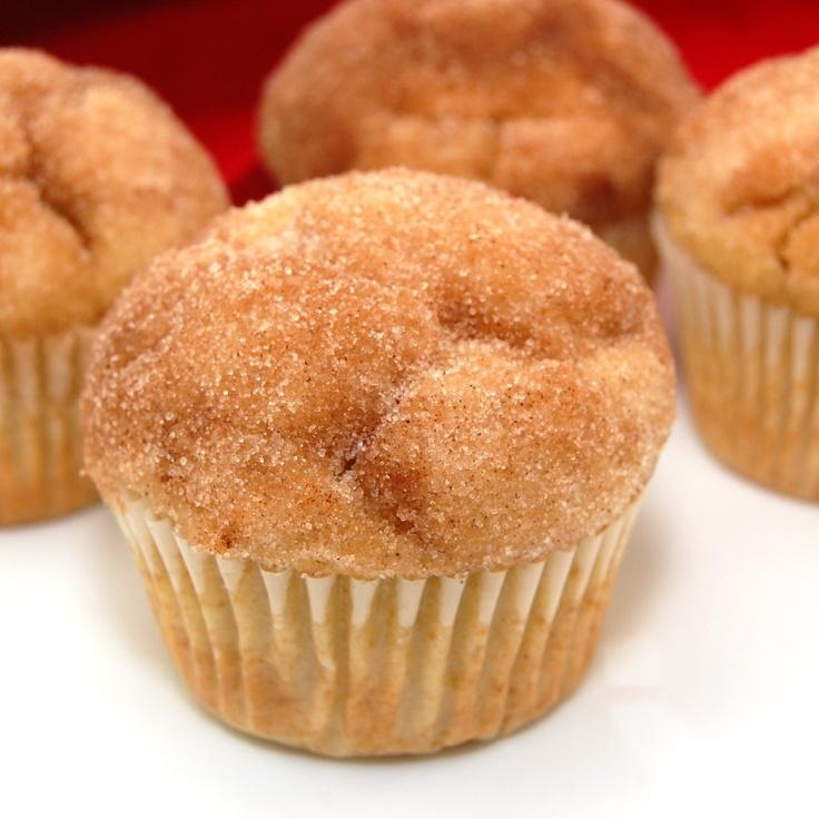 Sweet Pea's Kitchen » Cinnamon Sugar Doughnut Muffins