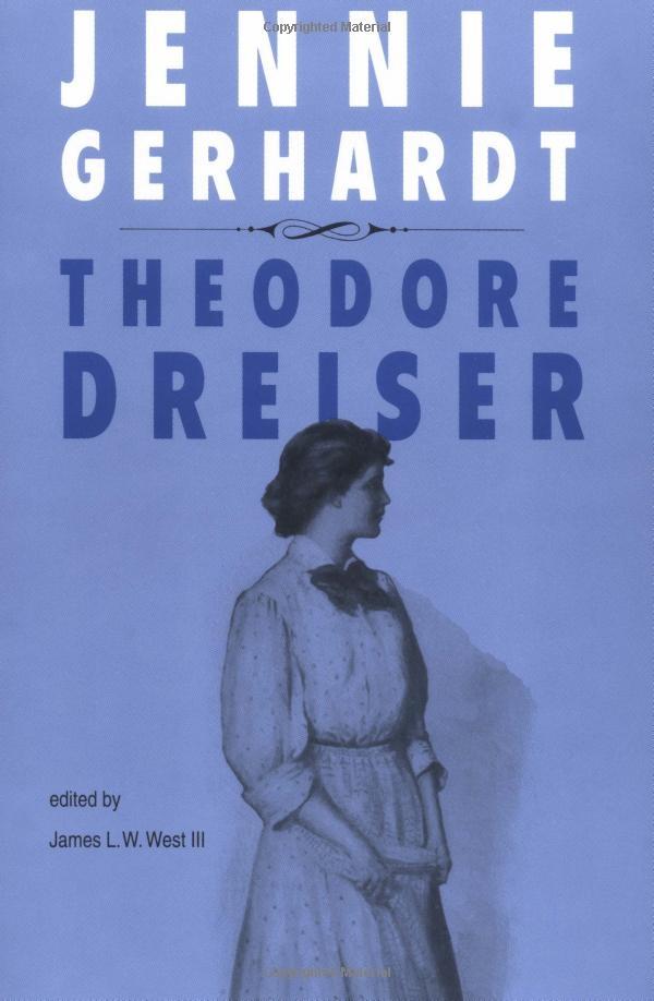 the analysis of jennie gerhardt essay Read the full-text online edition of dreiser's jennie gerhardt: new essays on the restored text analysis of main characters jennie gerhardt.