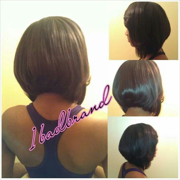 sew in layered bob hairstyles : Sew Ins
