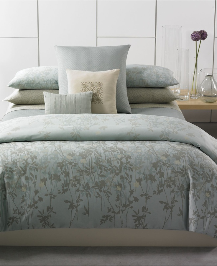 My master bedroom bedset- Calvin Klein Bedding, Marin. Can't wait to ...