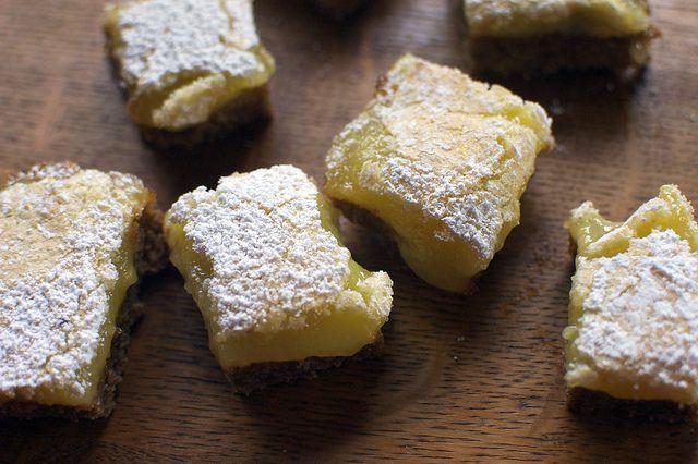GF ginger lemon bars -- @Tiffany McBride | Feeding the Beast | Pinter ...