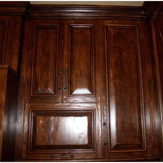 Dark Knotty Alder Kitchen Cabinets: Alder Cabinets