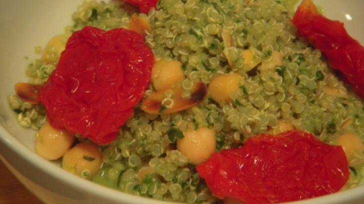 Lemon quinoa with fresh pesto | Quinoa,Farro,Garbanzo,Lentils,other g ...
