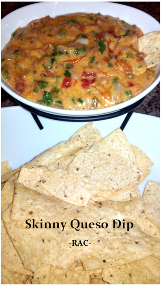 Rebeccas Amazing Creations: Skinny Queso Dip